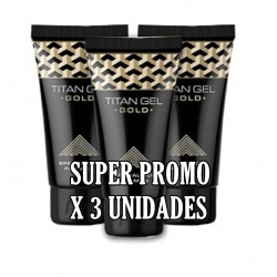 AP- TRIPLE PACK TITAN GEL GOLD.-