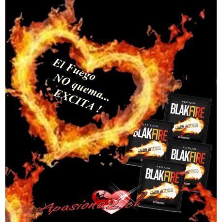 AP-  SACHET GEL COMESTIBLE BLACK FIRE 5G.-