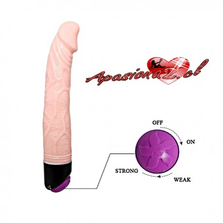 AP - Vibrador Flexible En Color Piel