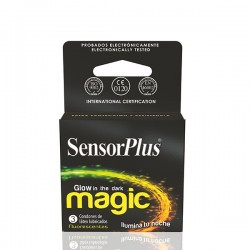 AP -PRESERVATIVO SENSOR PLUS MAGIC