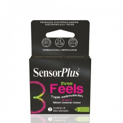 AP -PRESERVATIVO SENSOR PLUS THREE FEELS
