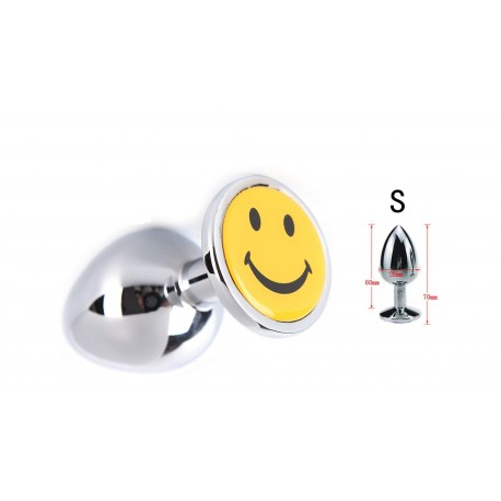 AP- Plug Anal Metalico  SMILE  talla S  RY-117-S