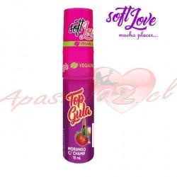 SPRAY SEXO ORAL TOP GULA FRUTILLA CHAMPANGE SOFT LOVE 15ML